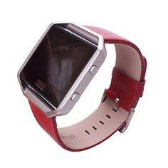 Fitbit Blaze Bands,Leather Bracelet Strap Replacement Band For Fitbit Blaze Smart Fitness Watch
