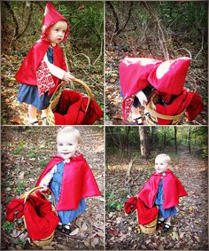 As promised here is the Red Riding Hood Tutorial. This cloak was pretty tricky for me and I spent weeks thinking about it. Then...