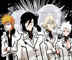 """I would've actually gone for this """"Kaname..."""" Byakuya looks shmexy in the night class uniform"""