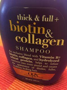 Kumkum's Beauty and MakeUp World: Organix Thick and Full Biotin and Collagen Shampoo...