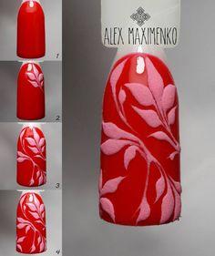 Бархатный дизайн на глянце) Понравилось - ставь , хочешь еще МК - подписывайся, чтобы увидеть больше) По вопросам записи и обучения обращаться в Direct или по телефону 0960760642) #alex_maximenko_nails_мк #alex_maximenko #instaphoto #photo #nails #gel #new #flowers #design #manicure #color #fashion #tutorial #flawless #gelpolish #watercolor #цветы #мастеркласс #идеиманикюра #маникюр #мк #росписьногтей #пошагово #дизайнногтей #рисунок #дизайн #гельлак #2017 #львова