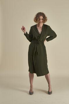 On-shore Dress Butler, Wrap Dress, Silk, Coat, Winter, Fabric, Dresses, Fashion, Winter Time