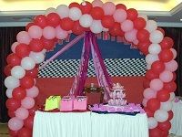 table decoration in birthday party
