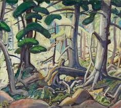 a beautiful painting once again by Emily Carr