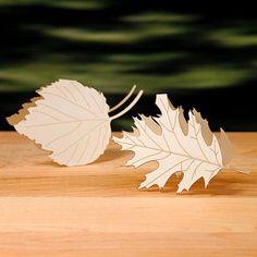 Image result for leaf place card