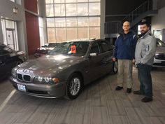 This is James, who just purchased the 2003 BMW 530i! Congratulations 🎊!  Looking for a perfect 👌 car 🚗? http://crsautomotive.com/vehicle-sales/  #HamOnt #BMW