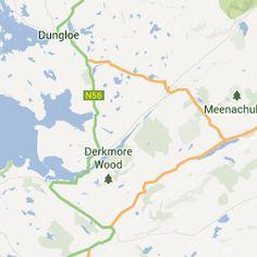 Travelmania Ireland - Dunlewy / Dunlewey Church Riuns, County Donegal