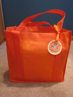 Orange you glad it's summer bag for the babysitters to mark end of school year. Filled with orange goodies. End Of School Year, Back To School, Babysitters, Orange You Glad, Summer Bags, Michael Kors Jet Set, Goodies, Printables, Tote Bag