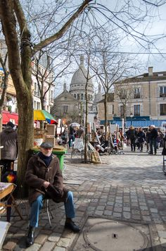 Artists square Monmarte, Paris