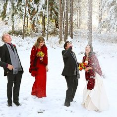 And that ultimately… | 38 Couples Who Absolutely Nailed Their Winter Weddings
