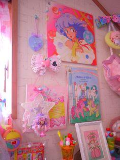 Kawaii Bedroom, Pastel Room, Cute Bedroom Ideas, Room Goals, Aesthetic Drawing, Dream Rooms, Tumblr, Vintage Toys, Room Inspiration