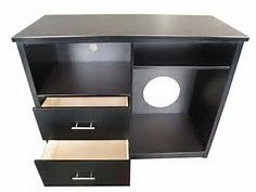 Image result for hotel microwave refrigerator cabinets