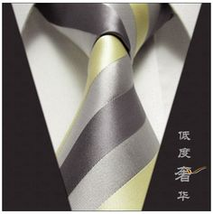 perfect tie for the yellow/grey wedding, very handsome. BUT probably what my Man of Honor will wear instead of the groom/men