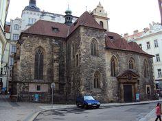 Česko, Praha - Kostel sv.Martina ve Zdi