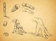 [Tuto] – Comment dessiner une main cartoon