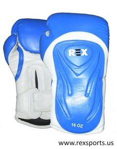 REX Sports Leather Cowhide PRO Boxing Glove #REXSports