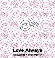 Wmf, Love Always, Quilting Designs, Packaging Design, Quilt Patterns, Embroidery, Quilts, Stitch, Digital
