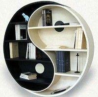 Zen bookshelves