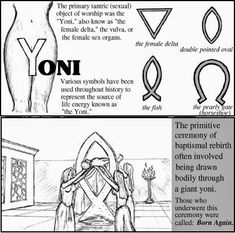 Female (Genitals/Genital) Symbolism Yoni *Mother Earth: Female