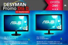Promo día D en desyman con monitores Asus