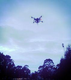 Cinestar X8 in flight #multirotor