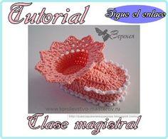 Mis Pasatiempos Amo el Crochet: Tutorial para principiantes : Botines de bebè