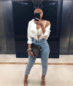 ideas for fashion style outfits going out classy shoes Mode Outfits, Trendy Outfits, Summer Outfits, Fashion Outfits, Bad And Boujee Outfits, Cute Going Out Outfits, Fashion Ideas, Dope Fashion, Fashion Killa