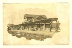 Cartão postal: Estação São Lourenço - Minas. MBC...