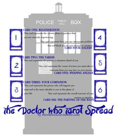 The Doctor Who Tarot Spread