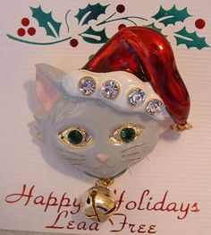 $11.95~~Just purrfect for Christmas!=^..^=