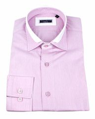 PInk dress shirt with luxury details from French designer Franck Michel .$129.00