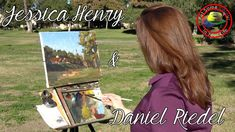 Oil painting techniques and tutorial for beginners or artists of all ages and skills. In this fine art TV show episode Jessica Henry & Daniel Hill Riedel are. Oil Painting Techniques, Painting Lessons, Art Techniques, Jessica Henry, Mixing Paint Colors, Landscape Paintings, Landscapes, Green Art, Learn To Paint