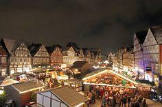 Ein Überblick von unserem Weinachtsmarkt in der Celler Altstadt.
