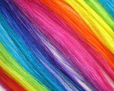 Rainbow Hair✶ #Hairstyle #Colorful_Hair #Dyed_Hair
