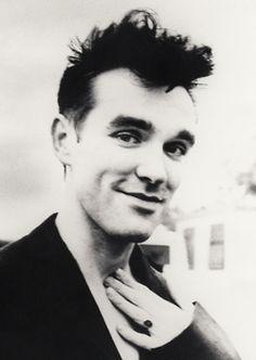 Morrissey I love when he smiles...