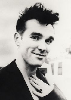Morrissey I love when he smiles...