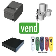 Vend Pos Hardware Bundle #10 Point Of Sale, Apple Tv, Pos, Printer, Bluetooth, Software, Hardware, Computer Hardware, Printers