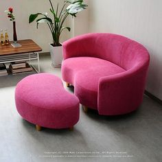 Pink and Hear Sofa
