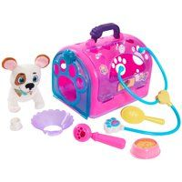 Doc McStuffins Pet Rescue On-the-Go Carrier - Oliver - Walmart Inventory Checker - BrickSeek Baby Doll Nursery, Baby Girl Toys, Toys For Girls, Kids Toys, Mickey Mouse Clubhouse, Minnie Mouse Party, Mouse Parties, Doc Mcstuffins Toys, Puppy Carrier