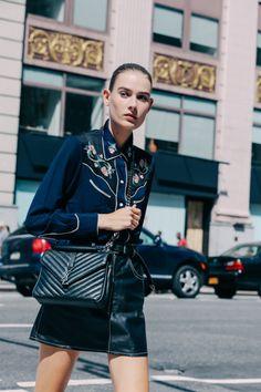 Yves Saint Laurent Bag | Street Style