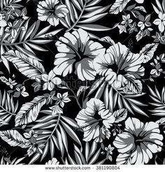 ภาพถ่าย ภาพ และภาพวาดสต็อกเกี่ยวกับ Hibiscus Print | Shutterstock