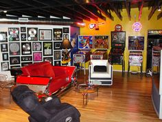 Rock 'n' roll reigns supreme in this colorful and cool hangout. Created by real-life guitar hero Dan Leap, this loft is the perfect space to display two of his passions: music and DIY decor.