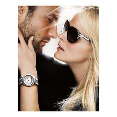 Carmen Kass Noah Mills for Michael Kors ❤ liked on Polyvore featuring models, backgrounds, people, couples and pics