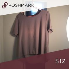 Nude shirt Doesn't fit me anymore! Size M! Forever 21 Tops Blouses