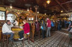 Discover Crown Liquor Saloon in Belfast, Northern Ireland: This Victorian-era public house has set the standard for pub-style elegance for over a hundred years. Aberystwyth, A Hundred Years, Portsmouth, Belfast, Newcastle, Victorian Era, Ireland, Crown, Scotland