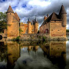 Château La Clayette, Bourgogne, France