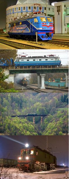 STRANGE EUROPEAN ELECTRIC TRAINS