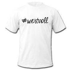 Du bist es dir wert. Es ist dir was wert. Zeig es allen! • Klassisch geschnittenes T-Shirt für Männer