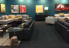 FNB Private Wealth Lounge.  FNB Joburg Art Fair 2015.  By EBONY. Art Fair, Wealth, Lounge, Couch, Projects, Furniture, Home Decor, Airport Lounge, Log Projects