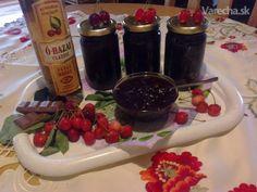 Čerešňový džem s čokoládou a višňovicou (fotorecept)
